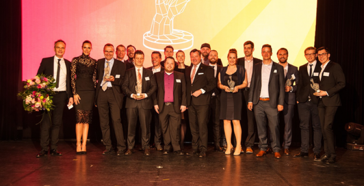 Foto: Die Gewinner der Criteo Performance Marketing Awards 2017...