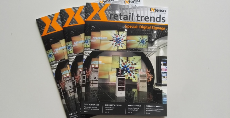 Cover retail trends Digital Signage