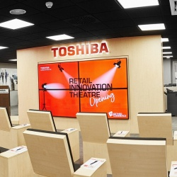 Thumbnail-Foto: Toshiba eröffnet Retail Innovation Theatre in Madrid...