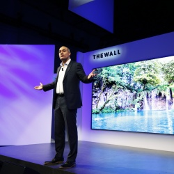 Thumbnail-Foto: Samsung auf der CES 2018: The Wall