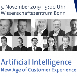 Thumbnail-Foto: Artificial Intelligence – New Age of Customer Experience...