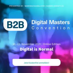 Thumbnail-Foto: B2B Digital Masters Convention 2020